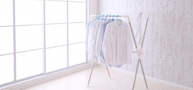 上手に洗濯されたシャツ