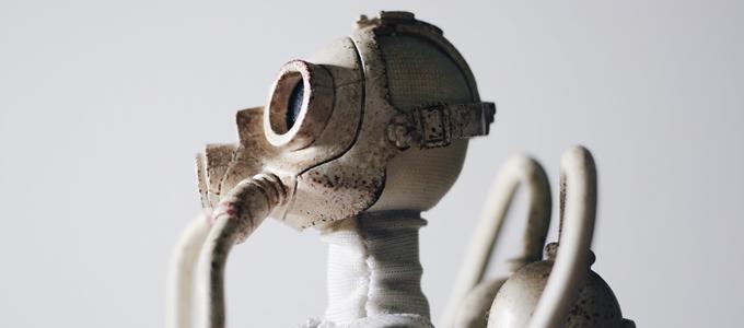洗濯物をたたむロボット