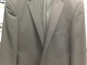 ラペルが立体的なスーツ