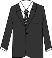 スーツのコーディネート グレイ10