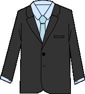 スーツのコーディネート グレイ8