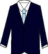 スーツのコーディネート ネイビー3