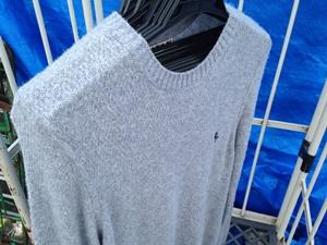セーターの濡れ干し