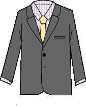 スーツのコーディネート グレイ7