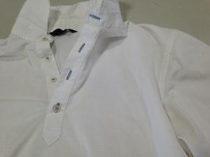 白いポロシャツ洗う前