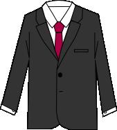 スーツのコーディネート グレイ6