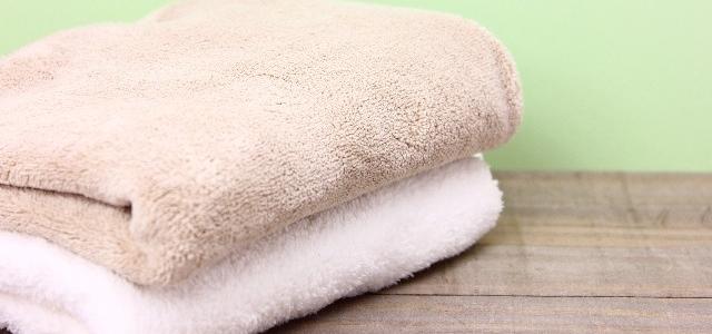 タオルのたたみ方