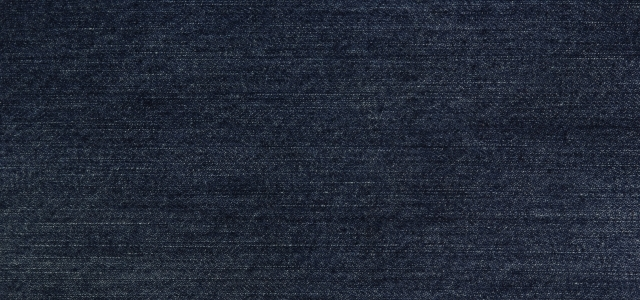 インディゴ染料で染められた生地