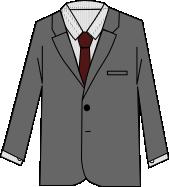 スーツのコーディネート グレイ9