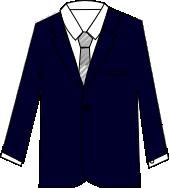 スーツのコーディネート ネイビー8