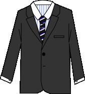 スーツのコーディネート グレイ4