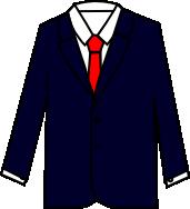 スーツのコーディネート ネイビー1