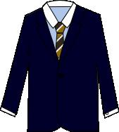 スーツのコーディネート ネイビー6