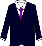 スーツのコーディネート ネイビー4