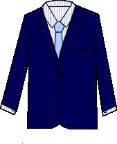 スーツのコーディネート ネイビー10
