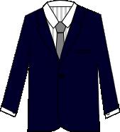 スーツのコーディネート ネイビー9
