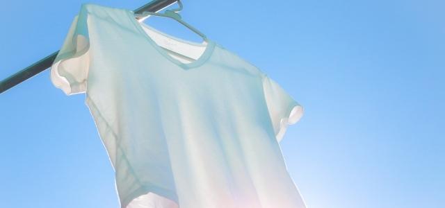 洗濯したTシャツ