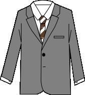 スーツのコーディネート グレイ3