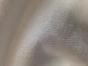短いパイルのバスタオル