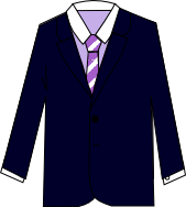 スーツのコーディネート ネイビー5