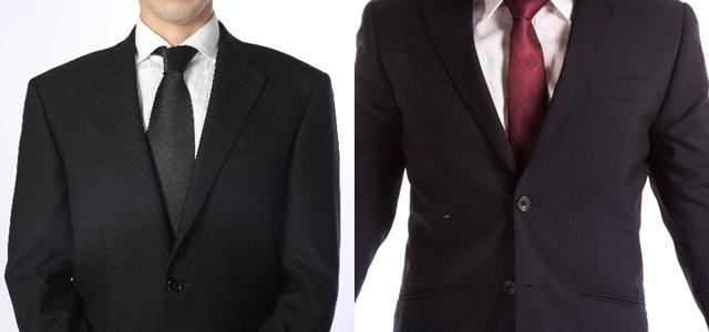 スーツと礼服の違い