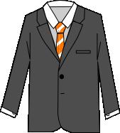 スーツのコーディネート グレイ5