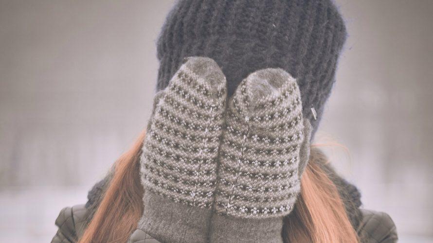 冬場の洗濯に悩む女性