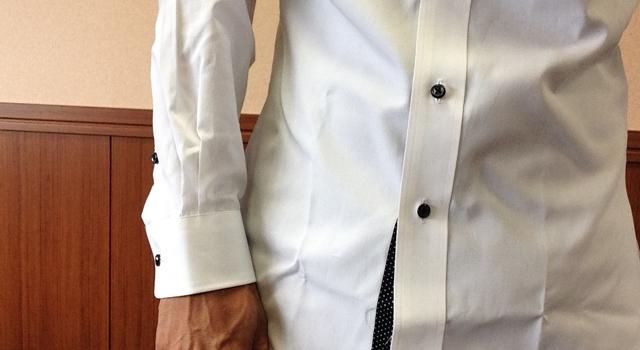 オーダーシャツの袖丈