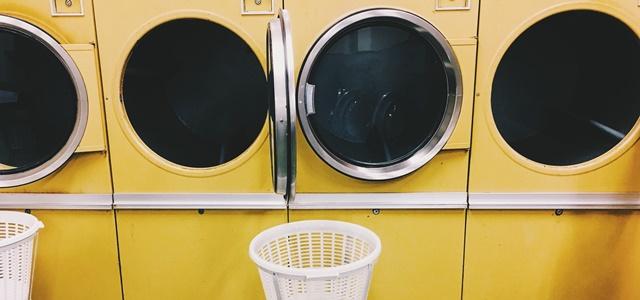 コインランドリーの乾燥機